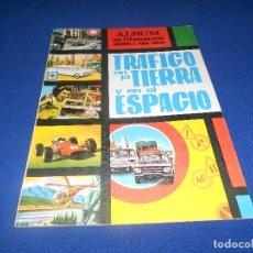 Coleccionismo Álbum: ALBUM VACIO TRAFICO EN LA TIERRA Y EN EL ESPACIO EDICIONES ARTFI. Lote 178570457