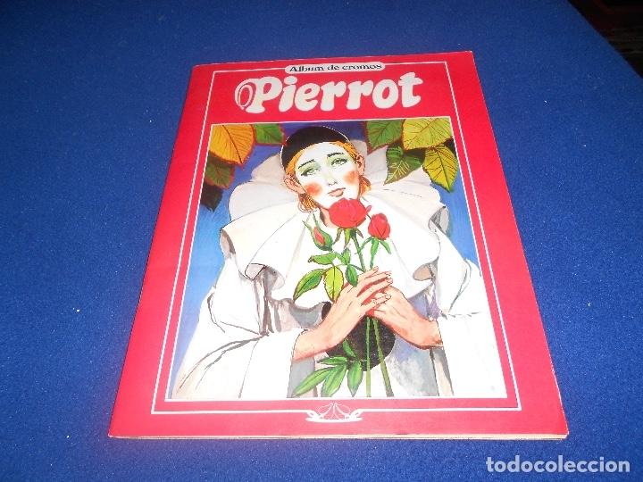 ALBUM DE CROMOS PIERROT ANTALBE, 1982 COMPLETO MUY BUEN ESTADO (Coleccionismo - Cromos y Álbumes - Álbumes Completos)