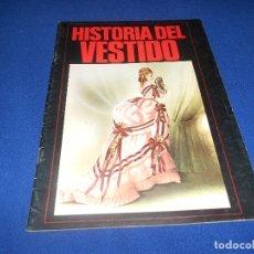 Coleccionismo Álbum: ALBUM DE CROMOS VACÍO HISTORIA DEL VESTIDO, DE DIFUSORA DE CULTURA, PLANCHA. Lote 178577683