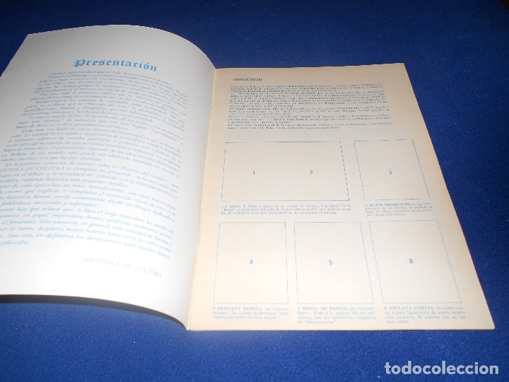 Coleccionismo Álbum: ALBUM DE CROMOS VACÍO HISTORIA DEL VESTIDO, DE DIFUSORA DE CULTURA, PLANCHA - Foto 2 - 178577683