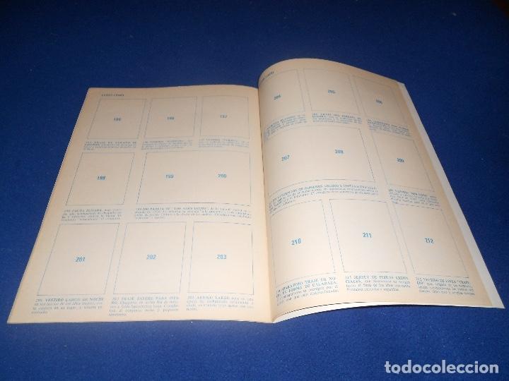 Coleccionismo Álbum: ALBUM DE CROMOS VACÍO HISTORIA DEL VESTIDO, DE DIFUSORA DE CULTURA, PLANCHA - Foto 4 - 178577683