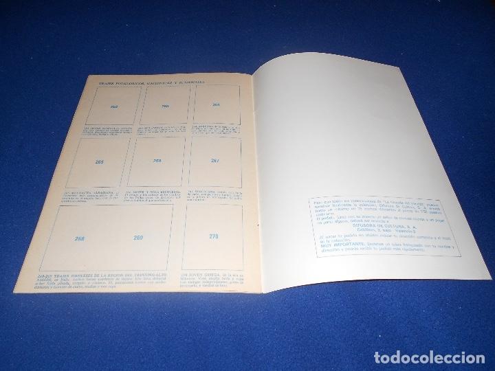Coleccionismo Álbum: ALBUM DE CROMOS VACÍO HISTORIA DEL VESTIDO, DE DIFUSORA DE CULTURA, PLANCHA - Foto 5 - 178577683