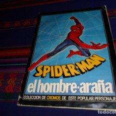 Coleccionismo Álbum: SPIDERMAN SPIDER-MAN EL HOMBRE ARAÑA COMPLETO 189 CROMOS. PACOSA DOS 1977. CORRECTO ESTADO.. Lote 178589496