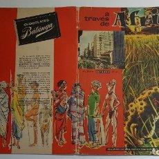 Coleccionismo Álbum: BATANGA - A TRAVÉS DE ÁFRICA NUMERO 2 - ALBUM COMPLETO. Lote 178844310