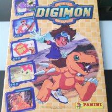 Coleccionismo Álbum: ÁLBUM CROMOS DIGIMON DIGITAL MONSTERS ED. PANINI 2000. Lote 178915230