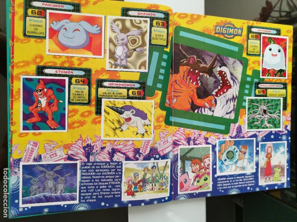 Coleccionismo Álbum: ÁLBUM CROMOS DIGIMON DIGITAL MONSTERS ED. PANINI 2000 - Foto 8 - 178915230