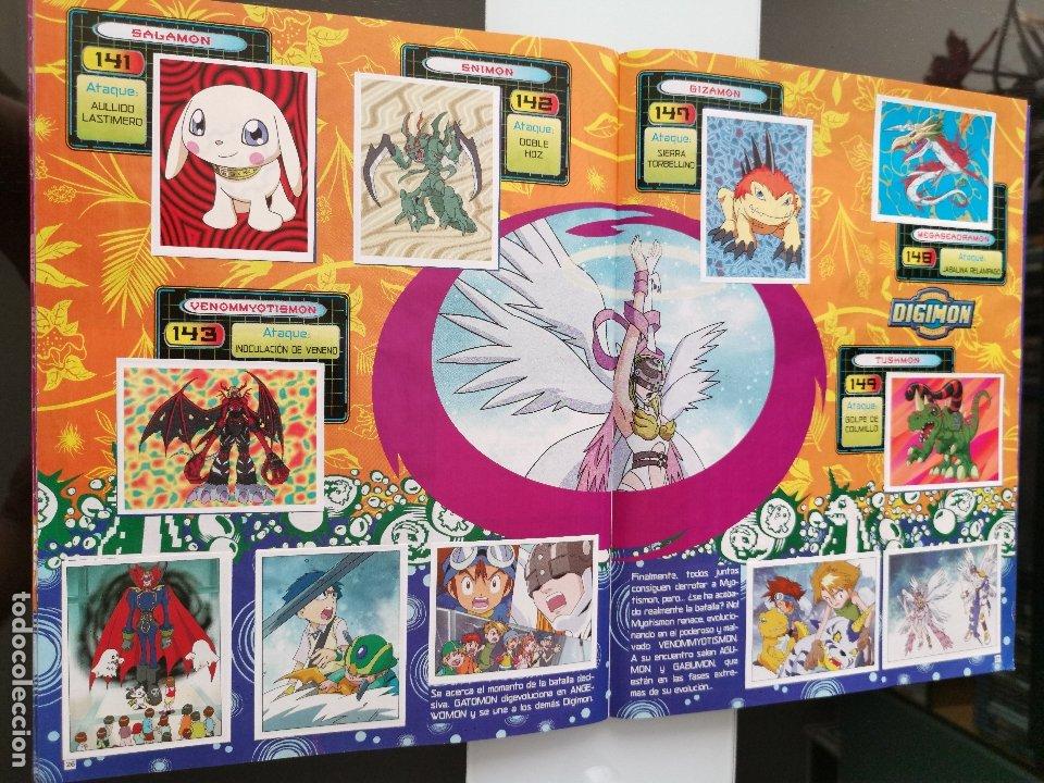 Coleccionismo Álbum: ÁLBUM CROMOS DIGIMON DIGITAL MONSTERS ED. PANINI 2000 - Foto 17 - 178915230