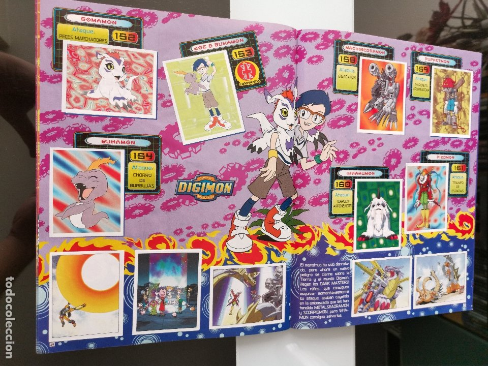 Coleccionismo Álbum: ÁLBUM CROMOS DIGIMON DIGITAL MONSTERS ED. PANINI 2000 - Foto 18 - 178915230