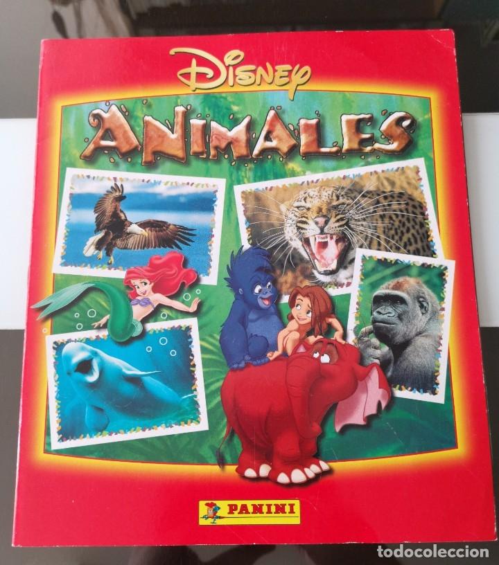 ÁLBUM CROMOS DISNEY ANIMALES ED. PANINI (Coleccionismo - Cromos y Álbumes - Álbumes Completos)