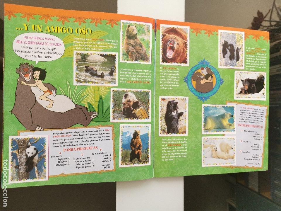 Coleccionismo Álbum: ÁLBUM CROMOS DISNEY ANIMALES ED. PANINI - Foto 8 - 178915262
