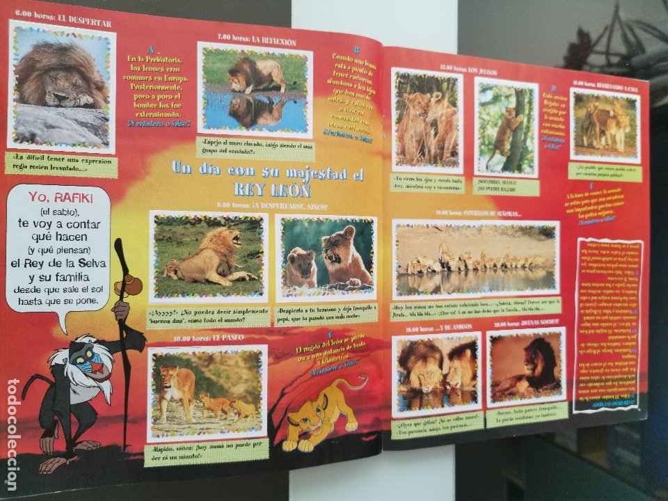 Coleccionismo Álbum: ÁLBUM CROMOS DISNEY ANIMALES ED. PANINI - Foto 11 - 178915262