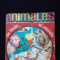 Coleccionismo Álbum: ALBUM DE CROMOS ANIMALES DE TODO EL MUNDO. Lote 178972267