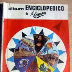 Coleccionismo Álbum: LA CASERA ANTIGUO ÁLBUM ENCICLOPÉDICO FHER - CARBÓNICA ALICANTINA - AÑO 1967 COMPLETO. Lote 179009556