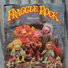 Coleccionismo Álbum: ALBUM DE CROMOS FRAGGLE ROCK (COMPLETO) (FHER 1985). Lote 179019087