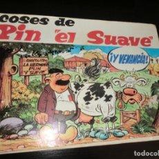 Coleccionismo Álbum: ALBUM DE PIN EL SUAVE,(CHOCOLATES LA HERMINIA,COMPLETO). Lote 179046176
