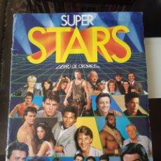 Coleccionismo Álbum: ÁLBUM CROMOS SUPER STARS ED. ESTE. Lote 179122306