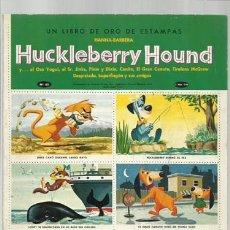 Coleccionismo Álbum: HUCKLEBERRY HOUND, 1965, NOVARO, ÁLBUM COMPLETO, BUEN ESTADO. COLECCIÓN A.T.. Lote 179129211