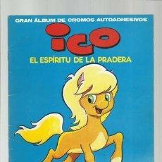 Coleccionismo Álbum: ICO, EL ESPIRITU DE LA PRADERA, 1983, ÁLBUM COMPLETO, PETETE, BUENE STADO. COLECCIÓN A.T.. Lote 179129321