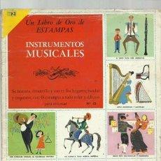 Coleccionismo Álbum: INSTRUMENTOS MUSICALES, 1973, ÁLBUM COMPLETO, NOVARO. COLECCIÓN A.T.. Lote 179130742