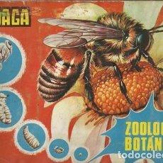 Coleccionismo Álbum: ZOOLOGÍA Y BOTÁNICA, 1969, MAGA, ÁLBUM COMPLETO. COLECCIÓN A.T.. Lote 179130955