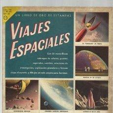 Coleccionismo Álbum: VIAJES ESPACIALES, 1961, ÁLBUM COMPLETO, NOVARO. COLECCIÓN A.T.. Lote 179131095