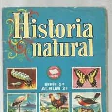 Coleccionismo Álbum: HISTORIA NATURAL, SERIE 5, ÁLBUM 2, 1958, BRUGUERA, COMPLETO. COLECCIÓN A.T.. Lote 179131553