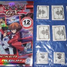 Coleccionismo Álbum: YU-GI-OH GX - UPPER DECK ENTERTEIMENT ¡COLECCIÓN COMPLETA SIN PEGAR!. Lote 179209257