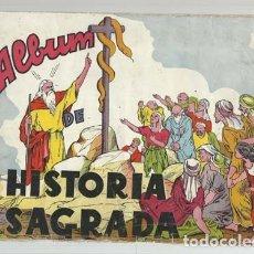 Coleccionismo Álbum: HISTORIA SAGRADA, EDITORIAL VILAMALA, USADO. COLECCIÓN A.T.. Lote 179211675