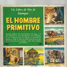 Coleccionismo Álbum: EL HOMBRE PRIMITIVO, 1963, NOVARO, ÁLBUM COMPLETO. COLECCIÓN A.T.. Lote 179211812