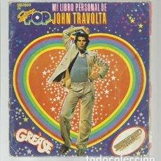 Coleccionismo Álbum: MI LIBRO PERSONAL DE JOHN TRAVOLTA, SUPER POP, ÁLBUM COMPLETO, USADO. COLECCIÓN A.T.. Lote 179211915