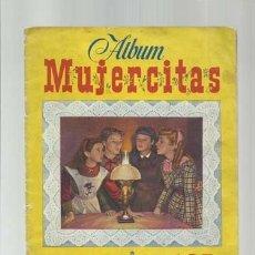 Coleccionismo Álbum: ÁLBUM MUJERCITAS, CLIPER, COMPLETO. COLECCIÓN A.T.. Lote 179211972