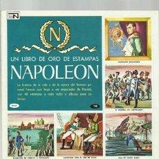 Coleccionismo Álbum: NAPOLEÓN, 1974, NOVARO, ÁLBUM COMPLETO, MUY BUEN ESTADO. COLECCIÓN A.T.. Lote 179212005