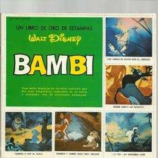 Coleccionismo Álbum: BAMBI, 1971, SUSAETA, ÁLBUM COMPLETO, MUY BUEN ESTADO. COLECCIÓN A.T.. Lote 179212071
