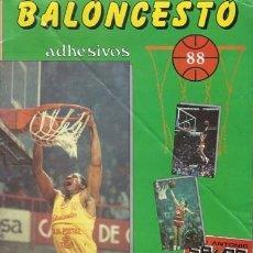 Coleccionismo Álbum: BALONCESTO 88, ÁLBUM COMPLETO, J. MARCHANTE, BUEN ESTADO. COLECCIÓN A.T.. Lote 179212102