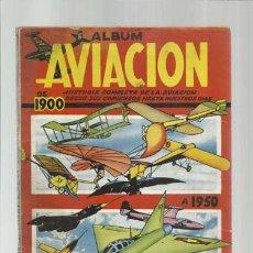 Coleccionismo Álbum: ÁLBUM AVIACIÓN DE 1900 A 1950, CLIPER, ÁLBUM COMPLETO, USADO. COLECCIÓN A.T.. Lote 179212306