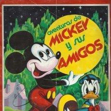 Coleccionismo Álbum: AVENTURAS DE MICKEY Y SUS AMIGOS, 1976, FHER, ÁLBUM COMPLETO. COLECCIÓN A.T.. Lote 179212380