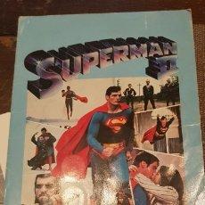 Coleccionismo Álbum: ALBUM CROMOS SUPERMAN II CHAPAS COCA COLA. Lote 179330508