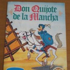 Coleccionismo Álbum: DON QUIJOTE DE LA MANCHA. PRECIOSO ÁLBUM DE CROMOS COMPLETO. DANONE. 1979. Lote 179385490