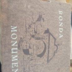 Coleccionismo Álbum: ALBUN COMPLETO MONUMENTAL DE RONDA. Lote 179402360