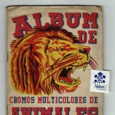Coleccionismo Álbum: ALBUM DE CROMOS MULTICOLORES DE ANIMALES / PLANTAS MARINAS / FHER / COMPLETO 246 CROMOS. Lote 179523465