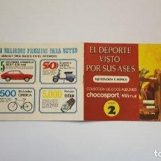 Coleccionismo Álbum: NESTLE - EL DEPORTE VISTO POR SUS ASES 2 EQUITACION E HIPICA - ÁLBUM COMPLETO. Lote 179529220