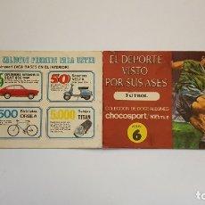 Coleccionismo Álbum: NESTLE - EL DEPORTE VISTO POR SUS ASES 6 FUTBOL - ÁLBUM COMPLETO. Lote 179529713