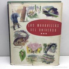 Coleccionismo Álbum: ALBUM COMPLETO LAS MARAVILLAS DEL UNIVERSO - EDITADO POR NESTLÉ - AÑO 1958. Lote 179532053