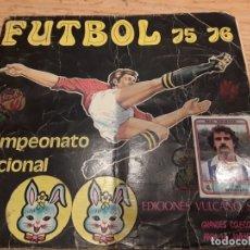 Coleccionismo Álbum: FUTBOL 75 76 VULCANO, COMPLETO.. Lote 179543980