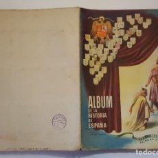Coleccionismo Álbum: ALBUM DE LA HISTORIA DE ESPAÑA EDAD MEDIA - ÁLBUM COMPLETO - EDICIONES ESPAÑA. Lote 179958373