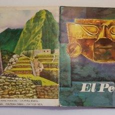 Coleccionismo Álbum: ALBUM DE ORO EL PERU MILENARIO - ÁLBUM COMPLETO - EDICIONES INKA 1973. Lote 179960150