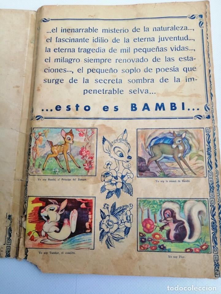 Coleccionismo Álbum: ALBUM DE CROMOS COMPLETO BAMBI DE FHER AÑOS 60 - Foto 2 - 180103231