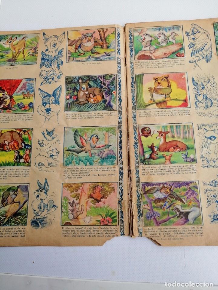 Coleccionismo Álbum: ALBUM DE CROMOS COMPLETO BAMBI DE FHER AÑOS 60 - Foto 3 - 180103231
