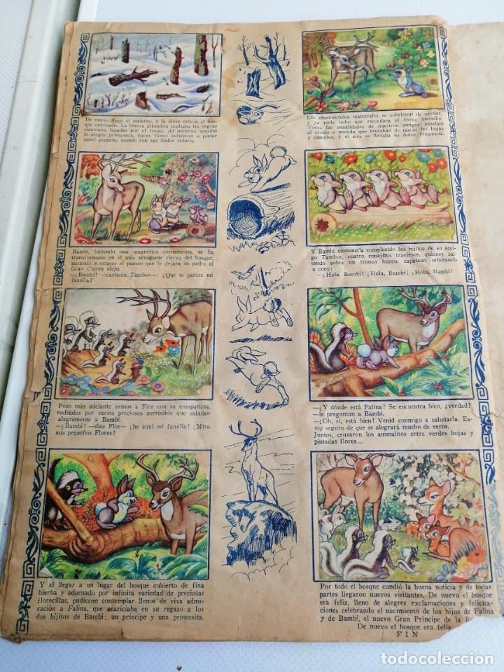 Coleccionismo Álbum: ALBUM DE CROMOS COMPLETO BAMBI DE FHER AÑOS 60 - Foto 4 - 180103231