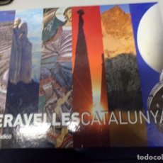 Coleccionismo Álbum: ALBUM MERAVELLES DE CATALUNYA COMPLETO. Lote 180174000